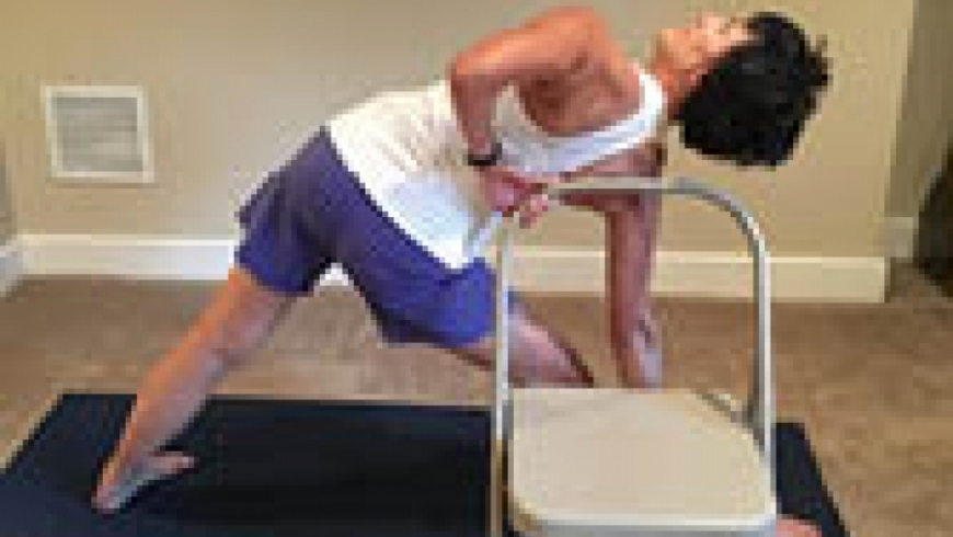 Chair yoga, part 2 – Amp it up!